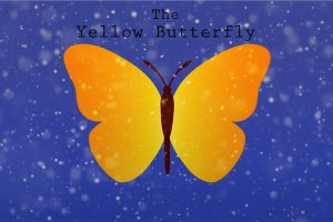 Yellow-Butterfly-poster